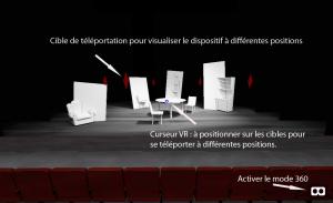réalité virtuelle et scénographie du spectacle