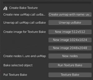 bake de texture pour la réalité virtuelle
